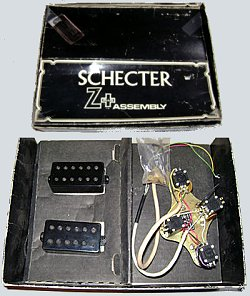 when mutron� closed its doors in the late 1970's mike biegle of biegle labs�  introduced dan armstrong to shel horlick of schecter research� and together